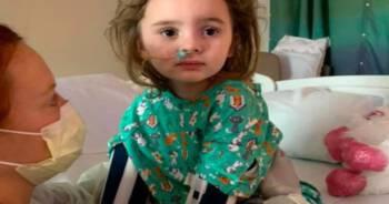 4-latka straciła wzrok przez grypę