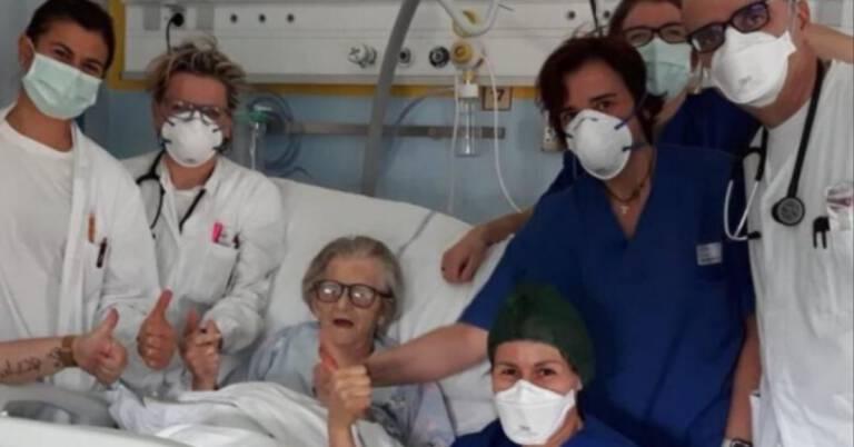 95-letnia kobieta wyleczona z koronawirusa
