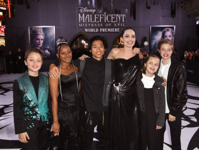 Angelina Jolie przekazała milion dolarów na rzecz głodujących dzieci