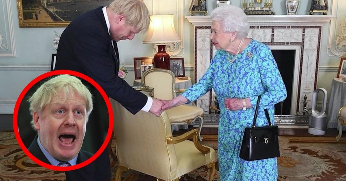 Boris Johnson zaraził królową koronawirusem