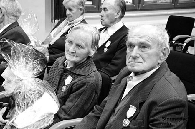 Byli małżeństwem przez 67 lat