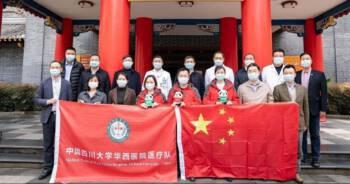 Chińscy specjaliści wysłani do Włoch