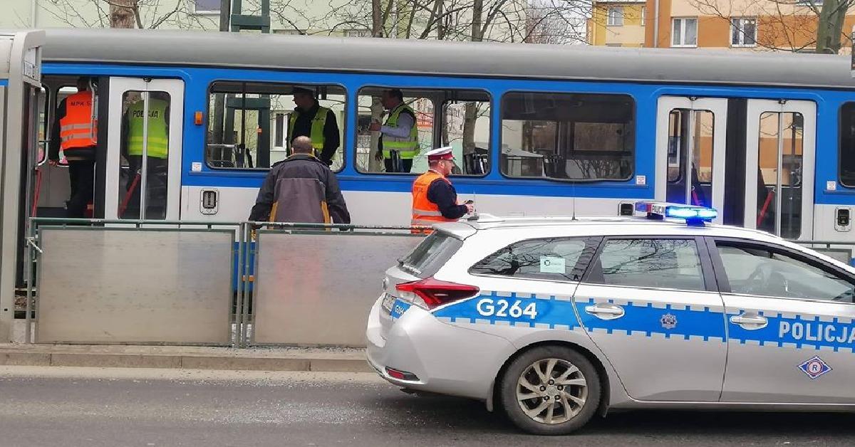 Eksplozja w krakowskim tramwaju