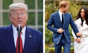 Książę Harry i księżna Meghan wyjechali do USA. Trump reaguje na ich wizytę