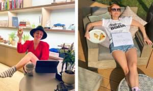 """Katarzyna Zielińska ma niezwykle """"zielone"""" mieszkanie. Rośliny dominują"""