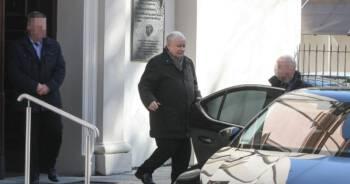 Kaczyński poszedł na mszę do kościoła