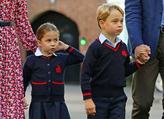 Koronawirus w szkole dzieci Williama i Kate