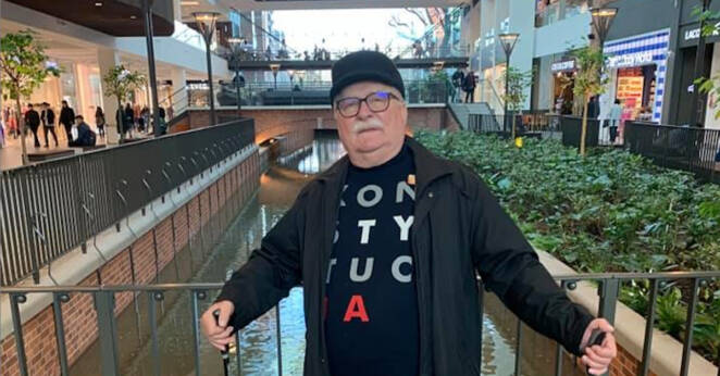 Lech Wałęsa o koronawirusie 2