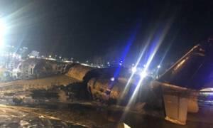 Pożar samolotu z zaopatrzeniem medycznym! Zginęli wszyscy pasażerowie