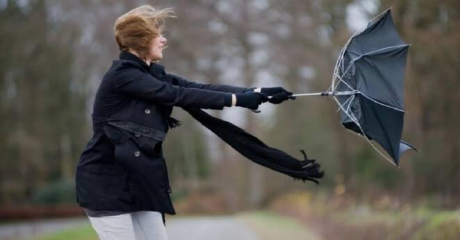 Pogoda silny wiatr i przymrozki 0