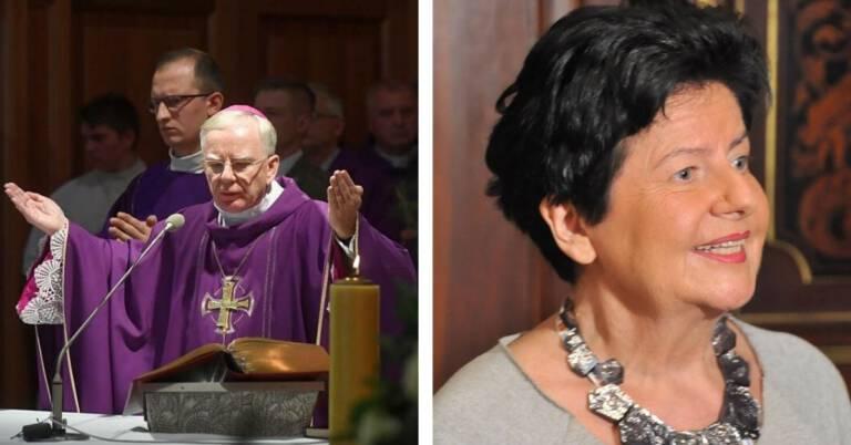 Senyszyn skomentowała nieobecność arcybiskupa