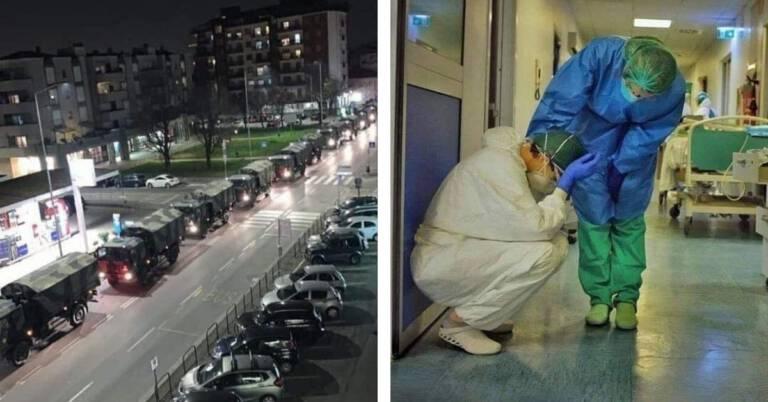 Tragiczna sytuacja we Włoszech