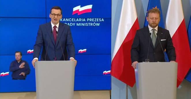 Zakaz wychodzenia z domu w Polsce