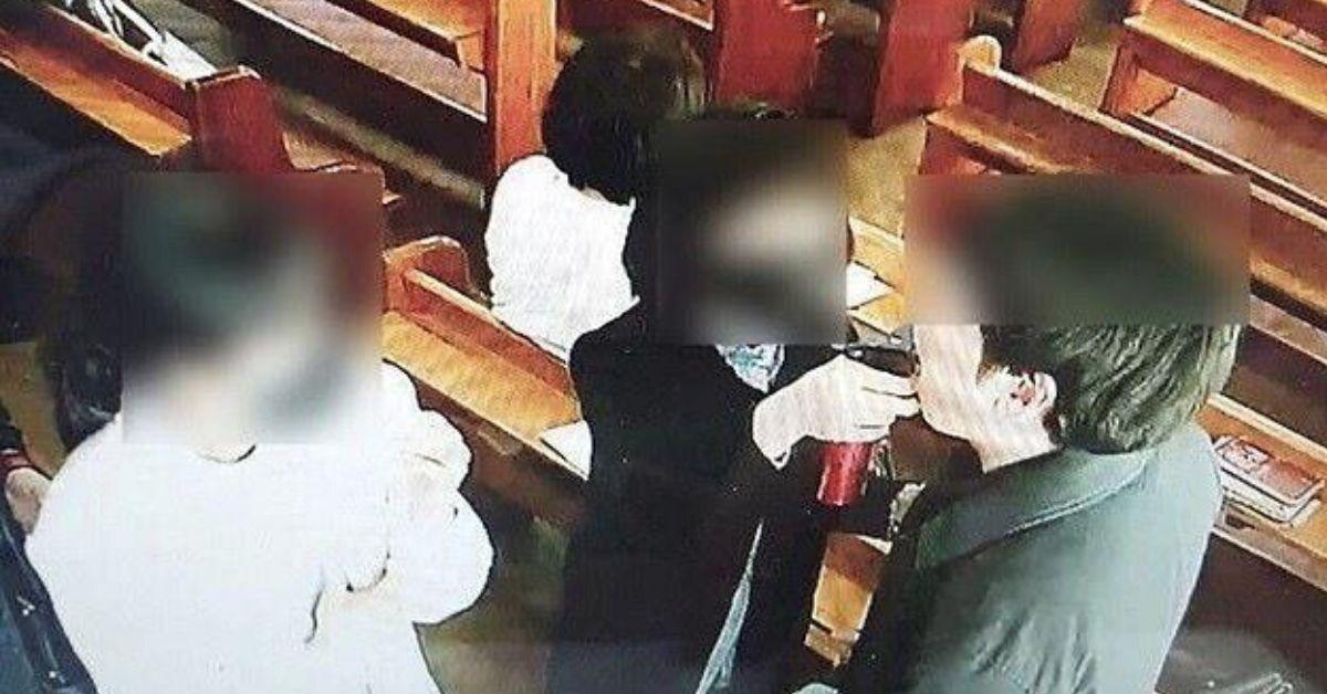 Zakazili się w kościele poprzez wodę