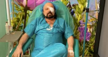 Zbigniew Hołdys w szpitalu