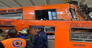 Zderzenie pociągów metra