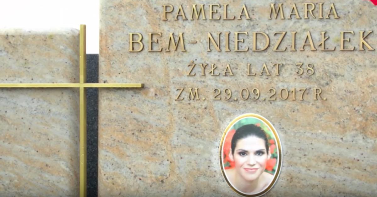 grób córki Ewy Bem