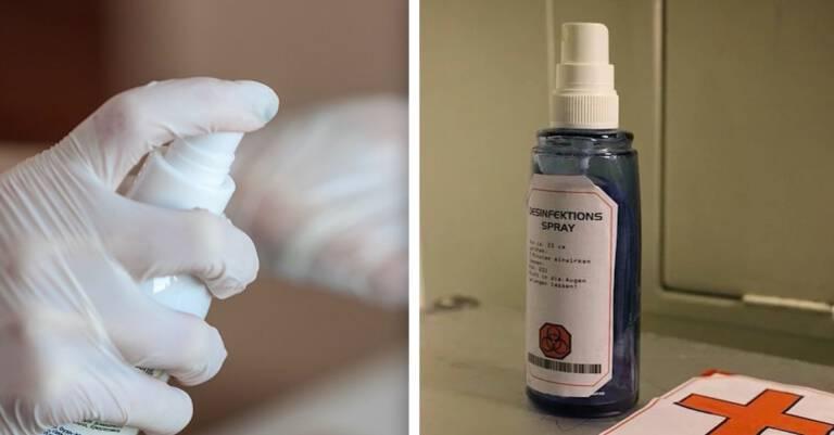 jak zrobić płyn do dezynfekcji