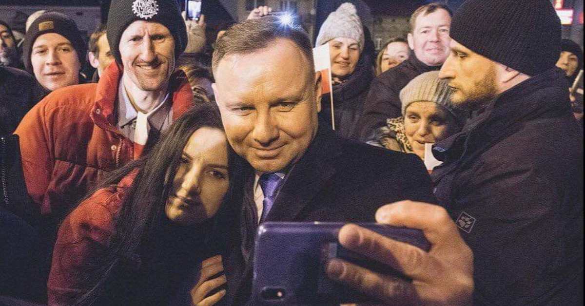 kochanka Andrzeja Dudy