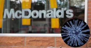 ognisko koronawirusa w McDonaldognisko koronawirusa w McDonalds
