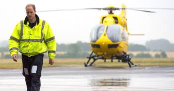 książę William znów będzie pilotem