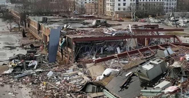 tornado w Nashville