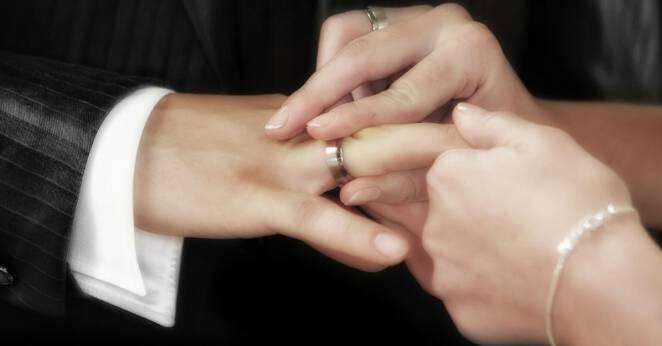Ślub syna polityka