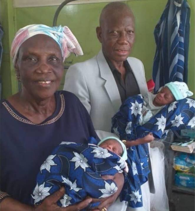 68-letnia Nigeryjka została mamą