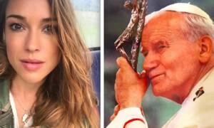Alicja Bachleda-Curuś i Jan Paweł II. Aktorka ze wzruszeniem wspomina papieża