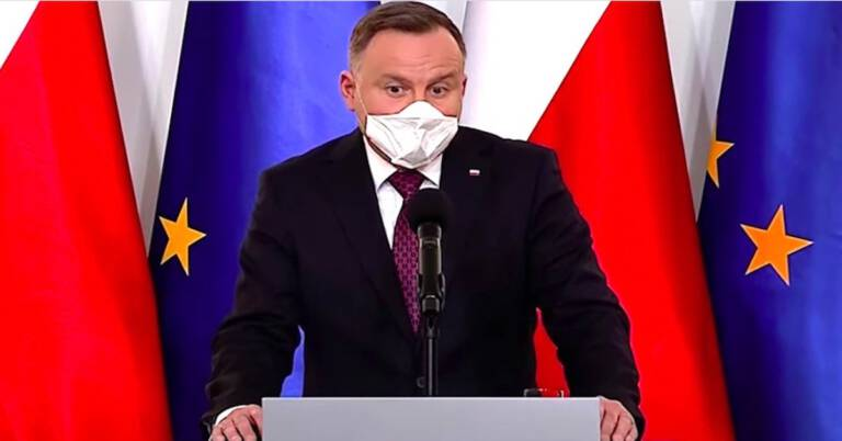 Apel prezydenta Dudy do Polaków