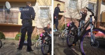 Interwencja policji pod blokiem