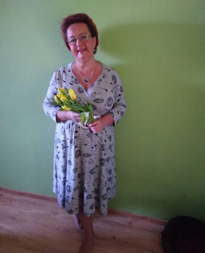 Izabela Zeiske z programu w załobie