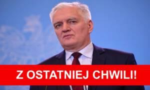 Jarosław Gowin podał się do dymisji! To w trosce o bezpieczeństwo Polaków?