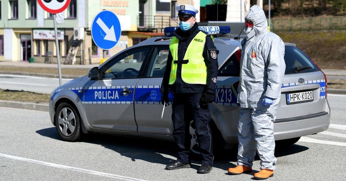 Komentarz policji w sprawie interwencji