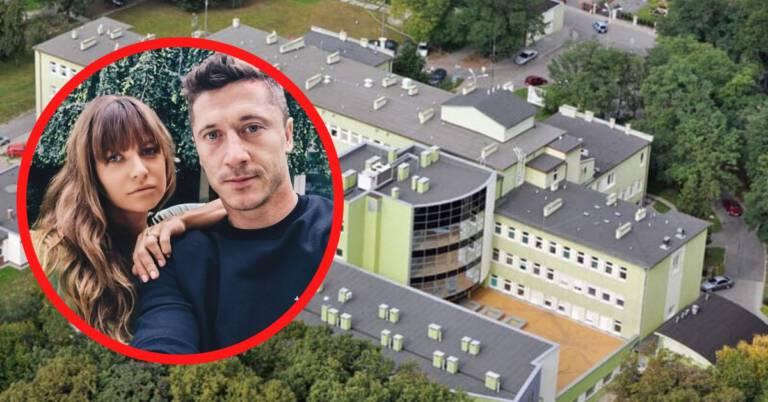 Lewandowscy dofinansowali szpital