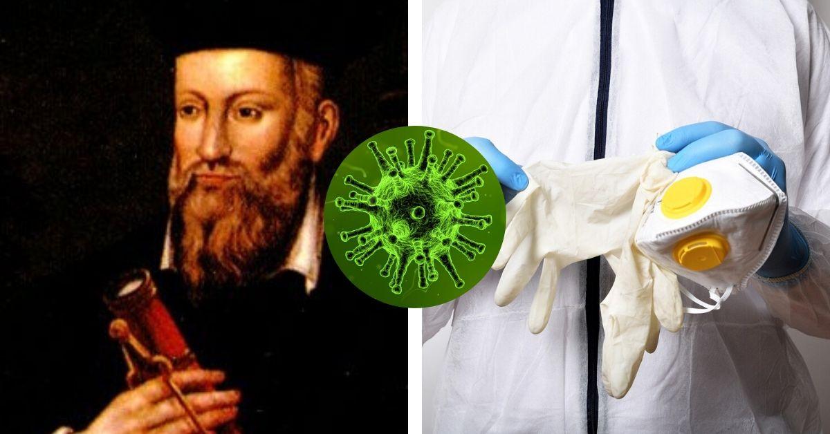 Nostradamus przewidział pandemię koronawirusa