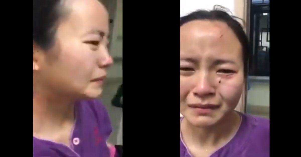 Pielęgniarka pogryziona po twarzy przez pacjentkę