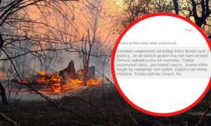Radioaktywna chmura znad Czarnobyla