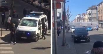 Zamieszki na ulicach Brukseli