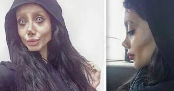 Zombie Angelina Jolie ma koronawirusa