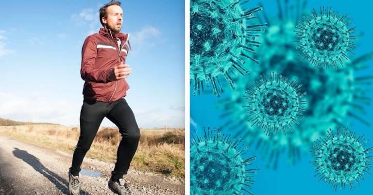 bieganie w czasie epidemii