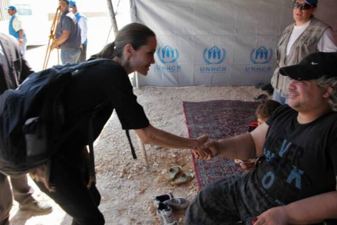działalność charytatywna Angeliny Jolie