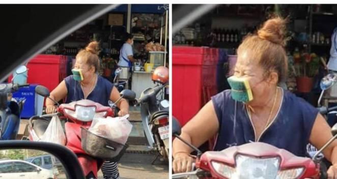niezwykłe maski ochronne