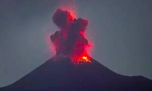 wybuch wulkanu Krakatau