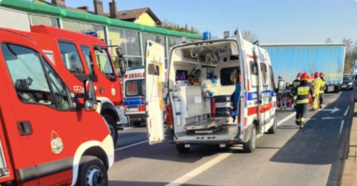 wypadek z Goczłkowicach-Zdroju