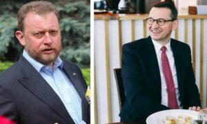 Łukasz Szumowski broni Morawieckiego. Reżim sanitarny nie obowiązuje wszystkich?