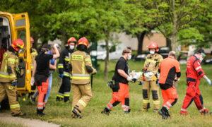 Dramatyczny wypadek we Włocławku. 14-miesięczna dziewczynka w ciężkim stanie