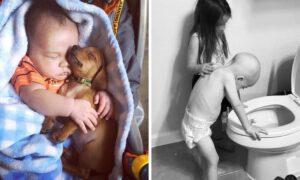 17 zdjęć, które udowadniają, że dzieci mają nieskazitelne i piękne serca