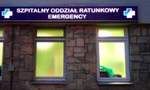 Lekarz wypadł z okna szpitala. Policja prowadzi śledztwo w tej sprawie