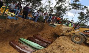 Masowe groby w Brazylii. Sytuacja wygląda dramatycznie